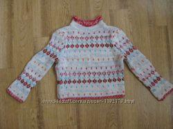 Тёплый свитер на осень на 7- 8 лет, Benetton.