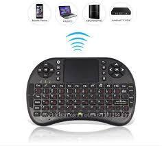 Беспроводная мини клавиатура i8 для Smart TV руская раскладка