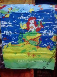 Детский постельный комплект в кроватку Русалочка