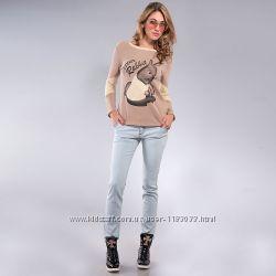 Стильные женские джинсы легкие разные размеры