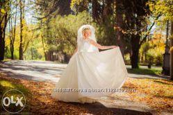 Счастливое свадебное платье в прокат