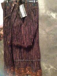 Продажа женског костюма из жатого шелка