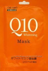 Маска для лица Shiseido mask Q10 отбеливающая с оливковым маслом