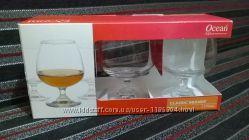 Фирм набор бокалов для коньяка и бренди Ocean 3 шт Отличный подарок
