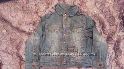 Джинсовая куртка на мальчика 6-7 лет