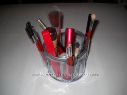 Органайзер для хранения косметических кисточек  круглый