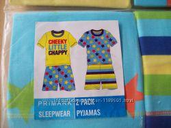 пижамки  для мальчиков Примарк футболка  шорты  Разм. 3-4г,   5-6л.