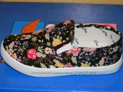 Текстильные слипоны для девочки 32 р. 18, 0 см