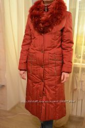Зимнее пальто на пуху