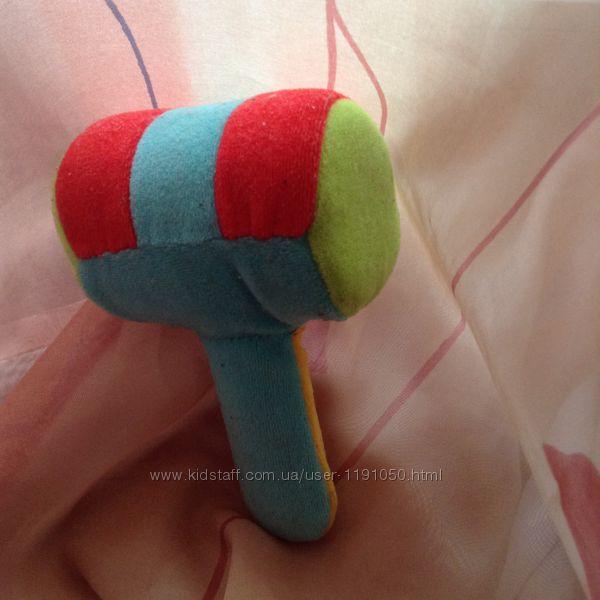 Продам  мягкую игрушку-погремушкуМолоток от Canpol babies