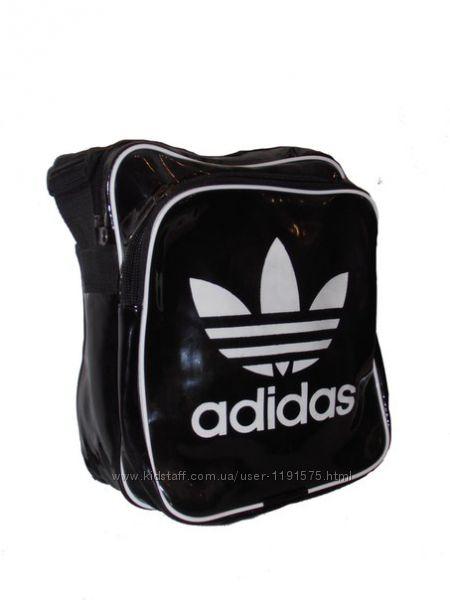 Спортивная сумка AdidasNike модель  014 Лак.