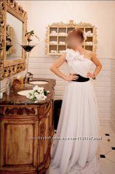 Продам свадебное платье копия Marchesa, S