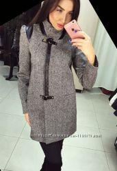 Новинка 2016 модное пальто Диана-твид Vol Ange