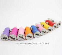 USB зарядное устройство  адаптер питания постоянного тока от автомобильног