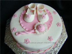детские торты на день рожденье, крестины, выпускной