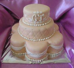 Свадебные торты из мастики Киев