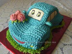 Торт машинка для мальчишек