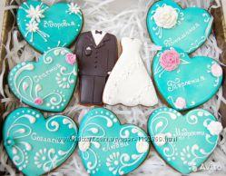 Имбирные пряники, свадебные, празник, Киев