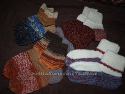 Вязанные носочки, ручная работа