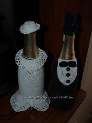 Свадебное украшение Жених и невеста