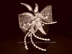 Бижутерия сваровски свадебное украшение для невесты в волосы