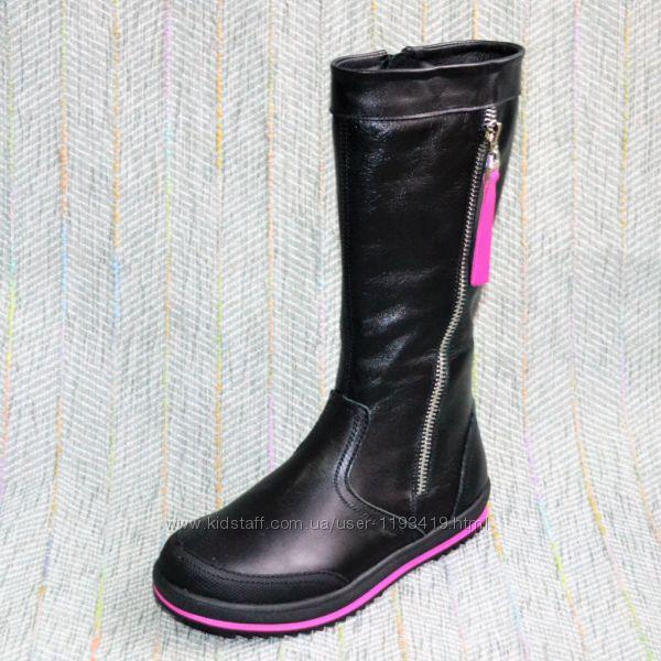 Cапоги для девочек Eleven Shoes р 31 32