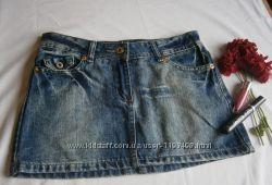 Юбка мини джинс