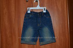 Шортики джинсовые 3-4 года
