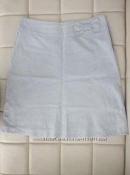 Льняная юбка с подкладкой Oodji M