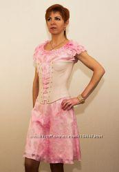 Выпускное платье Яблоневый цвет