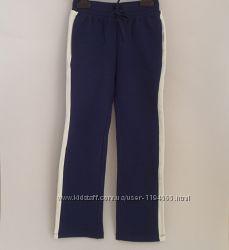 Спортивные брюки с белыми полосками для девочки 8-9 лет, Original Marines