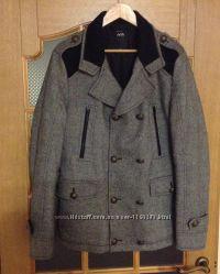 Мужская демисезонная курточка - полупальто, размер L.