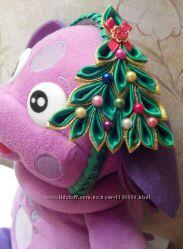 Обруч - новогодняя ёлочка