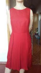 Платье сарафан классическое красное Monica ricci 46 - 48 р.