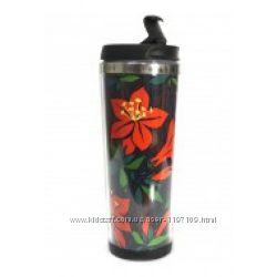 Термокружка Ziz Красный цветок