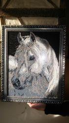 продаю картину вышитую бисером