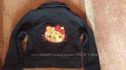 Стильный пиджак для девочки  Hello Kitty