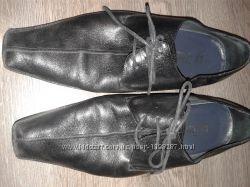 Туфли черные 39-40р нат кожа. 26см