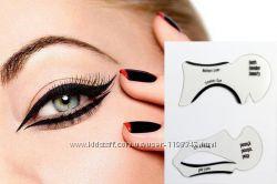 Трафареты для стрелок глаз и бровей