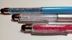 Ручка и стилус с кристалами 2 в 1