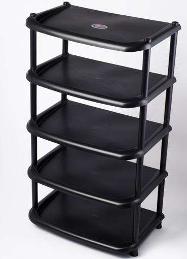 Полка пластиковая  на 5 ярусов для обуви, обувница, этажерка для обуви