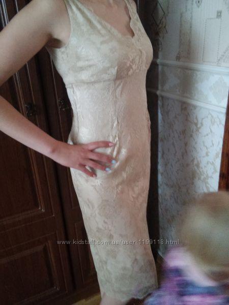 Платье из кружева 3810М размер не прозрачное