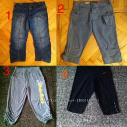 Капри, бриджи, шорты New Look, S&D, Denim, Nike