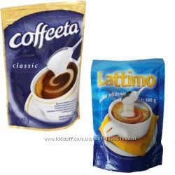 Сухие сливки Coffeeta и Lattimo