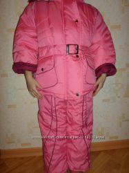 Новый зимний комплект для девочки, разм. 86, очень большемерит