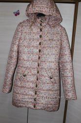 куртка пальто в горошек