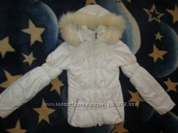 Белая красивая курточка до 48 размера