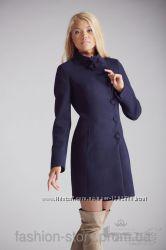 Стильное женское утепленное пальто