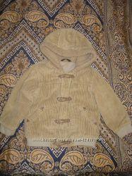 куртка тёплая унисекс весна-осень 2-3 года