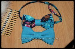 Яркая галстук-бабочка